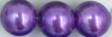 27 Purple amethyst - glass pearls - beads - all sizes